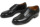 オールデン ミリタリーラスト プレーントゥ カーフ ブラック (ALDEN 53711)